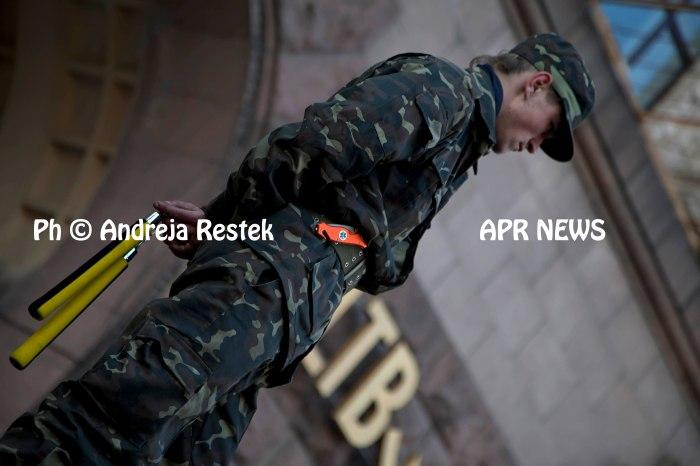 Kiev , Ukraina, revulution, 2014 ph å© Andreja Retsek , Apr news