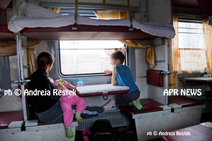 Ukraina, Crimea, Simferopol, Russia, treno Sevastopol - Kiev ph Andreja restek,