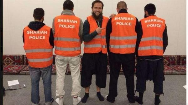 shariah patrol Germania