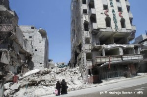 Dar al shifa . Siria ph © Andreja Restek apr news