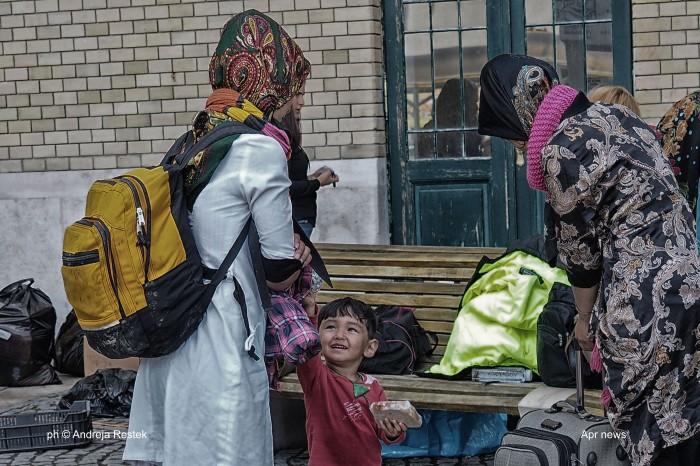 refugee from Afghanistan,  Serbia, Ungheria, Ph © Andreja Restek