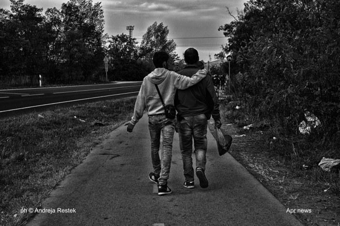 refugee, Austria, Viaggio, Serbia, Ungheria, Ph © Andreja Restek