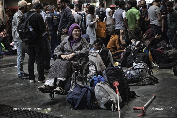 refugee Austria, Ph © Andreja Restek