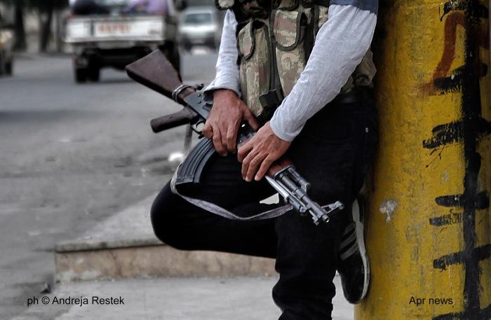 Syria, Aleppo 2012 © Andreja Retsek