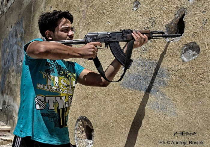 PH © Andreja restek / APR NEWS Aleppo, Syria