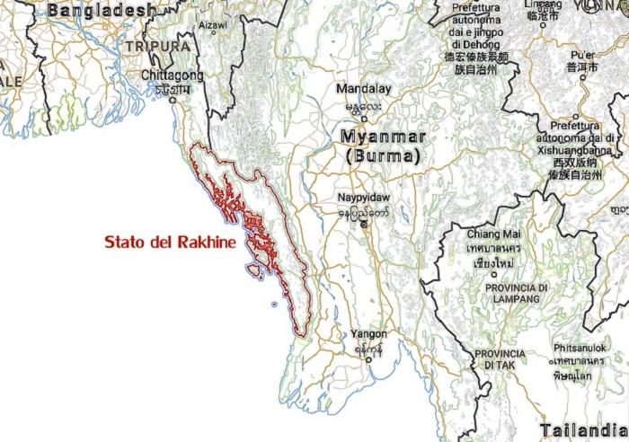 Stato-Rakhine-Myanmar