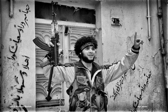 Siria, guerra Ph © Andreja Restek / APR NEWS